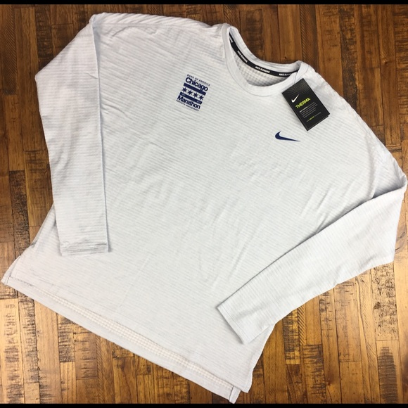 fa7222a6488 Nike Therma Sphere Chicago Marathon Running Shirt